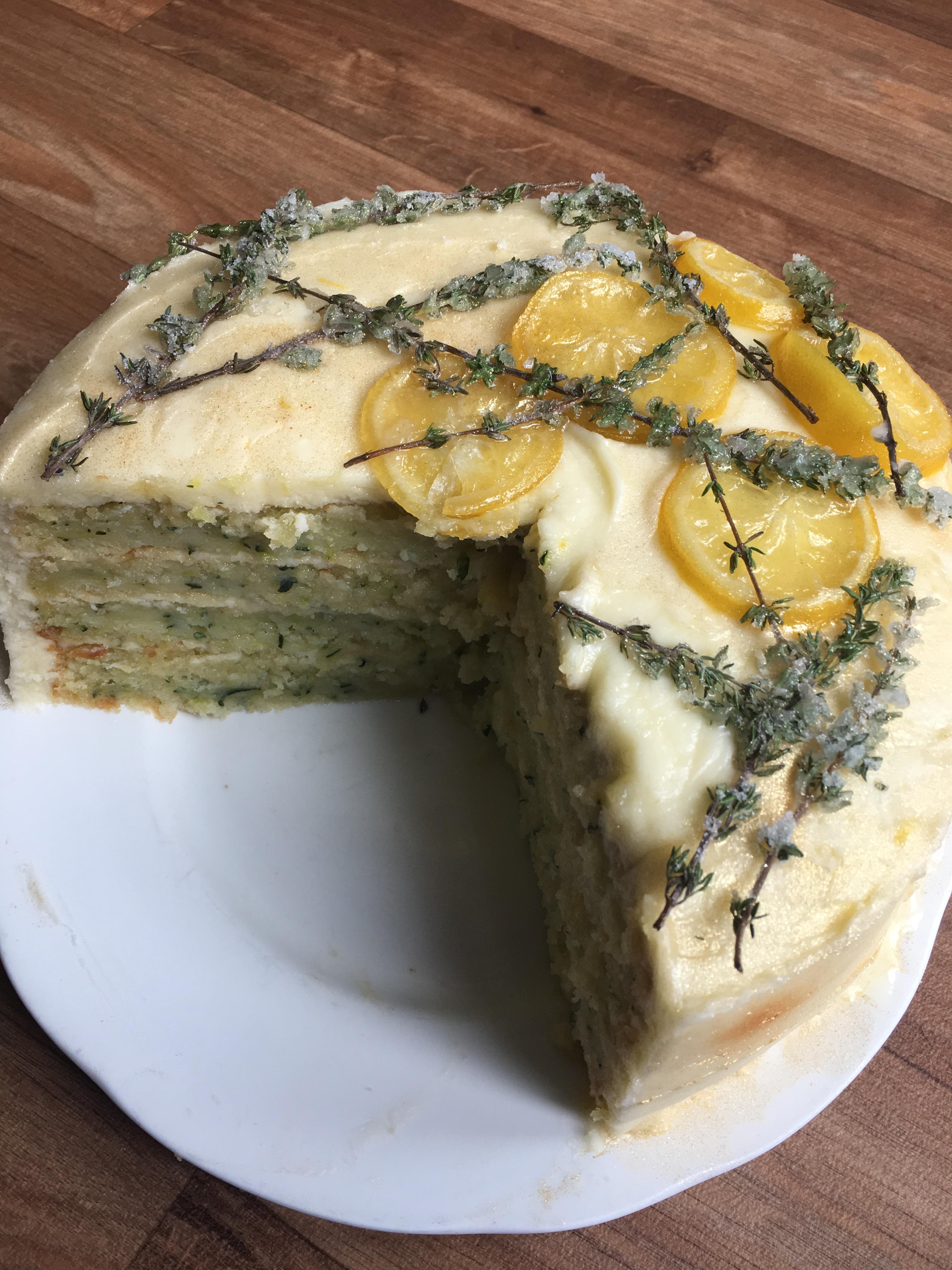 Bbc Courgette Cake